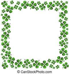 Four Leaf Clover - An image of a four leaf clover pattern.