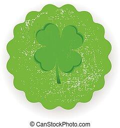 four leaf clover green symbol icon