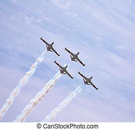 Four magnificent planes
