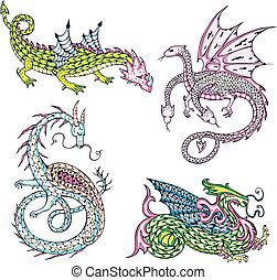 mythic dragons