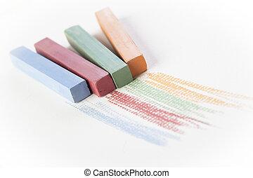 Four Pastels