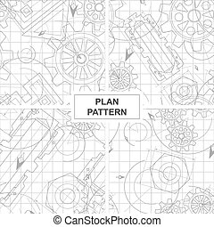 Four Patterns of Circuits and Gears