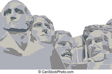 four presidents Mount Rushmore - Presidents of Mount...