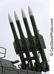 Four rockets