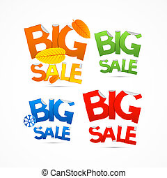 Four Seasons Colorful Big Sale Titles