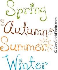 Four Seasons Text