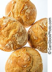 four small bread