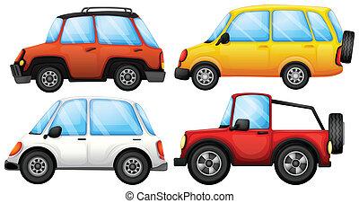 Four transportation devices