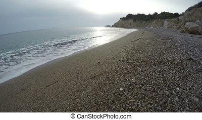 Fourni beach Rhodes island,