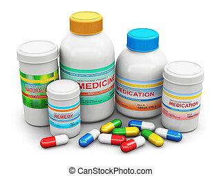 fournitures, monde médical