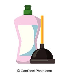 fournitures, produits, nettoyage