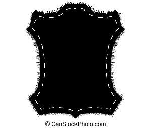 fourrure, silhouette