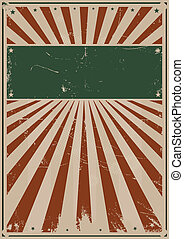 Fourth Of July Background - Illustration of a Grunge...