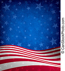 Fourth Of July Background - Fourth of July Background with...