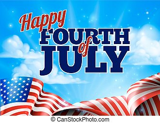 Fourth of July Independence Day Background