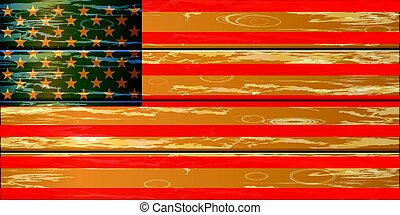 Fourth of July. Independence Day. USA illustration