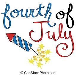 Fourth of July Rocket