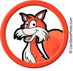 Fox circle banner