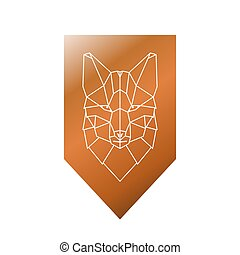 Fox polygonal head