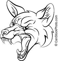 Fox sports character