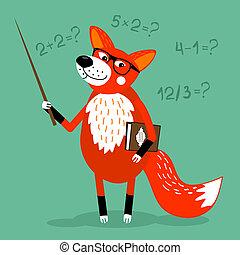 children education - Fox teacher children education school ...