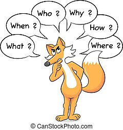 fox who asks questions