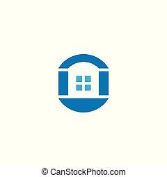 foyer bleu, logo