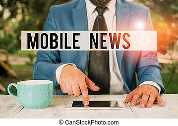 främre del, finger, begrepp, him., ord, skrift, användande, text, affär, enheter, pekande, affärsman, news., skapelse, nyheterna, mobil, leverans