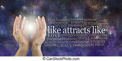 fréquence, attracts, élevé, garder, ton, aimer, ainsi, pensées