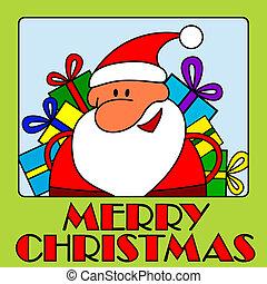 fröhlich, claus, -, weihnachten, santa