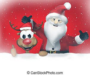 fröhlich, claus, weihnachten, santa