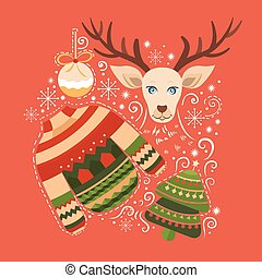 fröhlich, elements., sammlung, weihnachten