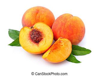 früchte, pfirsich