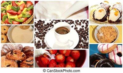 frühstückszeit, montage