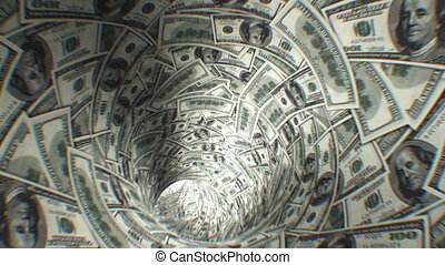 fr, tunnel., dollars, 250, boucle, premier