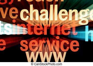 fracas,  Internet
