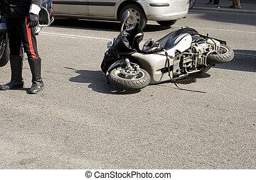 fracas, scooter