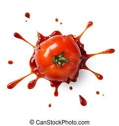 fracas, tomate