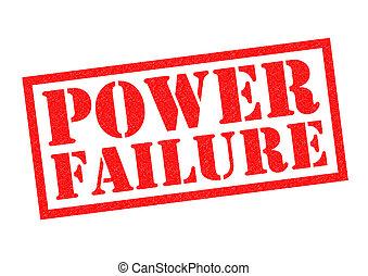 fracaso, potencia