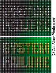 fracasso, sistema