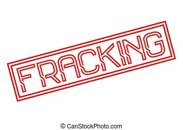 Fracking stamp typographic stamp - Fracking stamp....