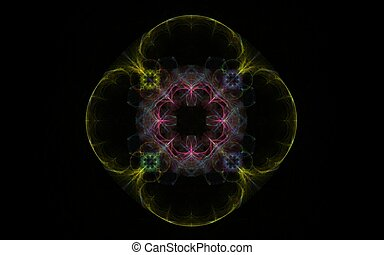fractal abstract flower