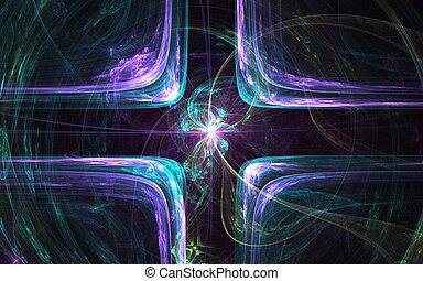 fractal abstraction line
