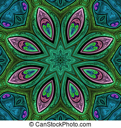 Fractal art design