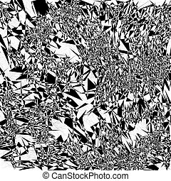 Fractal background - Black and white fractal background. The...