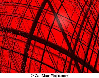 Fractal background - 2D fractal background, computer...