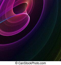 Fractal background lines