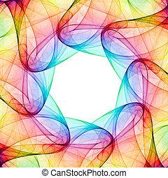fractal, calidoscopio