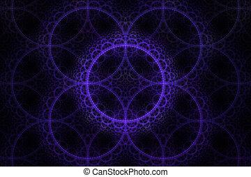 Fractal circle Fantasy