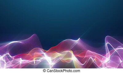fractal color background abstract